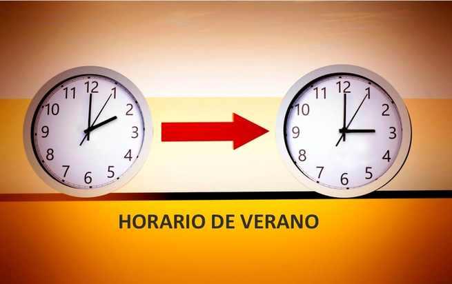 """El """"horario de verano"""" comienza la madrugada de este domingo 31 de marzo"""