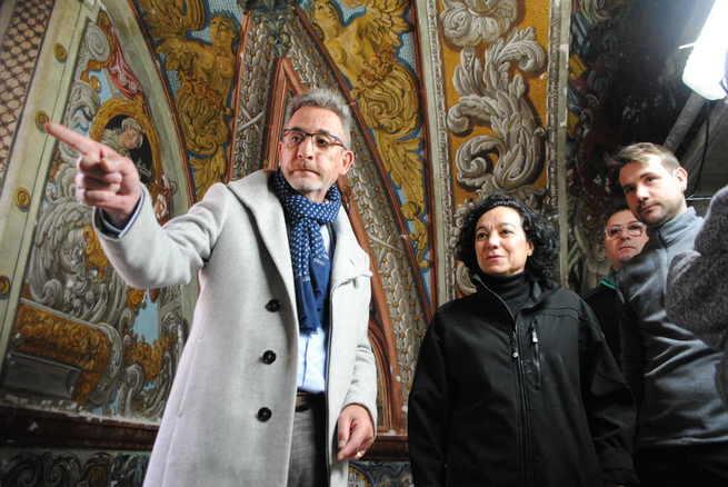 """Las pinturas barrocas de los Trinitarios de Valdepeñas, """"una herencia para generaciones futuras"""""""