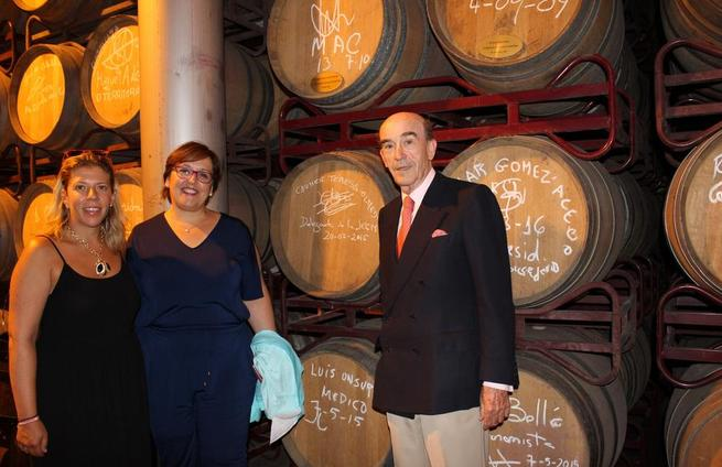 Imagen: Olmedo cita a la Cooperativa 'Virgen de las Viñas' como modelo de industria agroalimentaria que crea desarrollo, empleo y riqueza