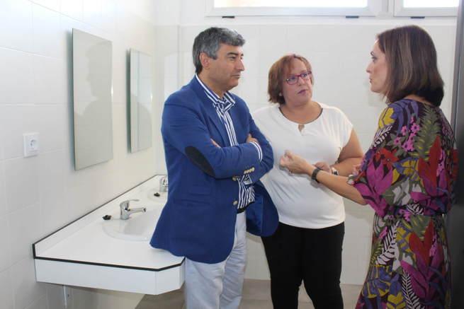 Castilla-La Mancha invierte 46.000 en mejorar las instalaciones del CEIP 'Domingo Miras' de Campo de Criptana