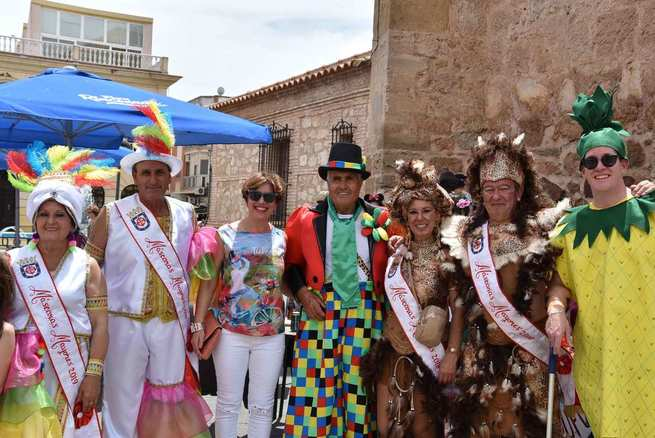 Miguelturra vivió su segundo Carnaval de Verano con un lleno absoluto en sus calles