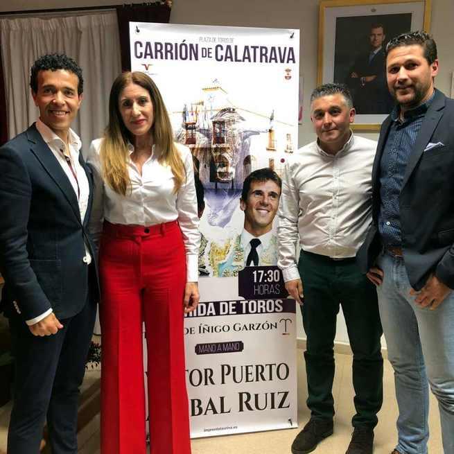 Mano a mano de Víctor Puerto y Aníbal Ruiz en la corrida de toros de Carrión de Calatrava el lunes de Resurrección 22 de abril