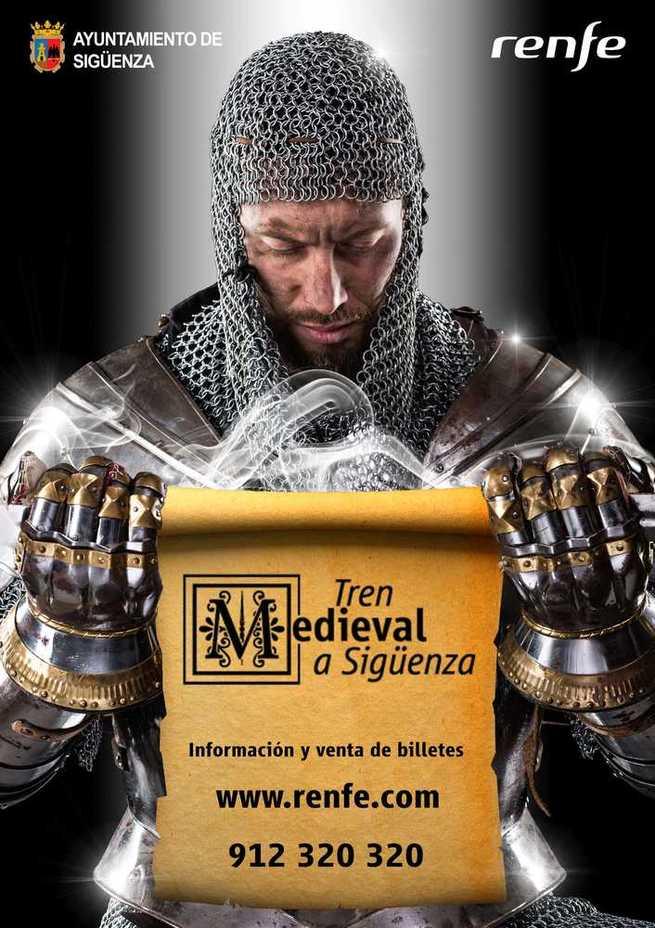 El Tren Medieval redescubre Sigüenza con una oferta turística, gastronómica y cultural