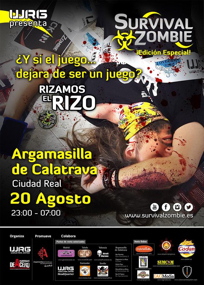 Mañana sábado, día 20, cientos de personas se sumaran a la Survival de Argamasilla, para la que aún quedan entradas
