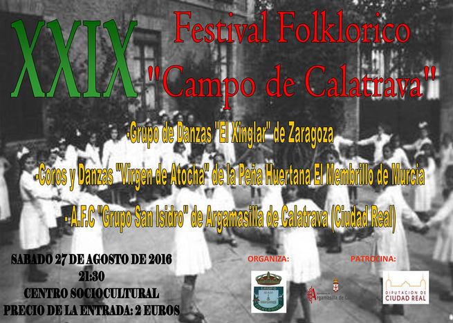 El 'Grupo San Isidro' compartirá con colectivos de Aragón y Murcia su 25º aniversario en el XXIX Festival Folklórico 'Campo de Calatrava'