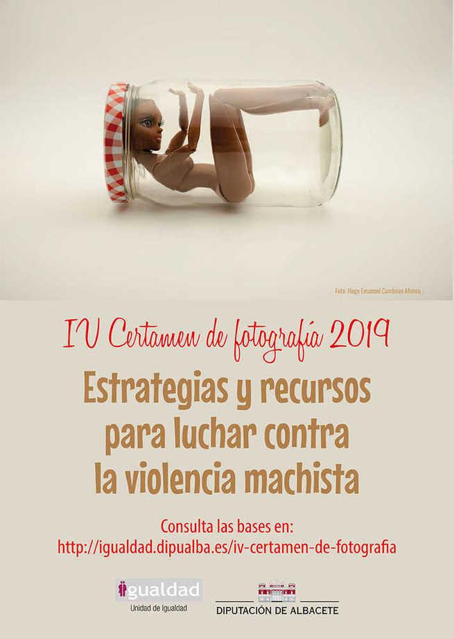 La Diputación de Albacete convoca el IV certamen fotográfico 'Estrategias y recursos para luchar contra la violencia machista'
