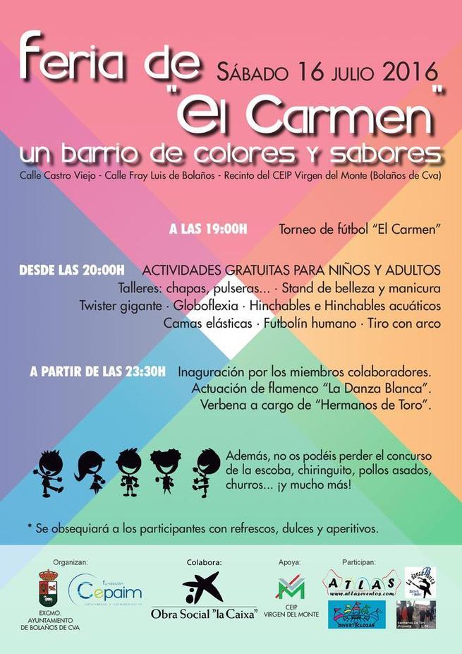 Imagen: El barrio de El Carmen  de Ciudad Real reaviva la Feria de su Patrona