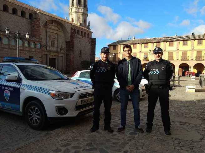 13 nuevos chalecos antibalas para la Policía Local de La Solana