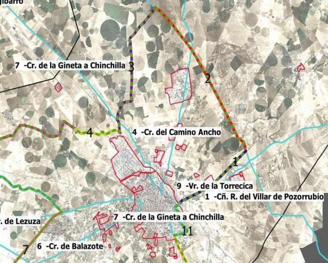 El Circuito Ciclopecuario usará los caminos públicos y vías pecuarias para un recorrido ciclista de 78 kilómetros, con partida y final en la Plaza Elíptica de la Escuela de Arte de Albacete