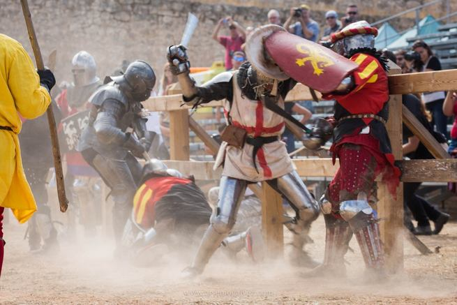 Participantes de 9 países lucharán en el II Torneo Internacional de Combate Medieval