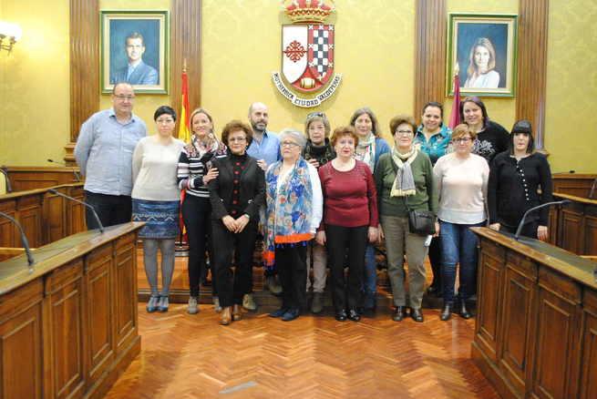 Jero Pascual, Isabel López, Mercedes López y Mancha Acoge, Premios Mujer Valdepeñas 2019