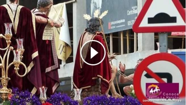 Domingo de Ramos en Ciudad Real. Coronación de Espinas