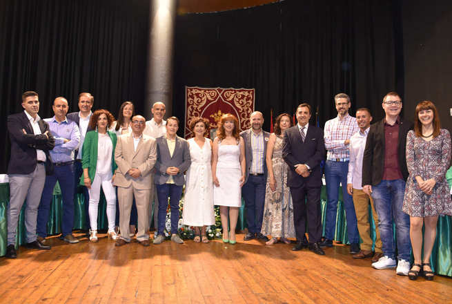 Laura Arriaga Alcaldesa de Miguelturra con los votos de PSOE e IU-Podemos