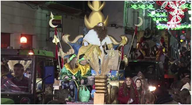 Todo preparado para la llegada de Sus Majestades los Reyes Magos de Oriente a Villarrobledo