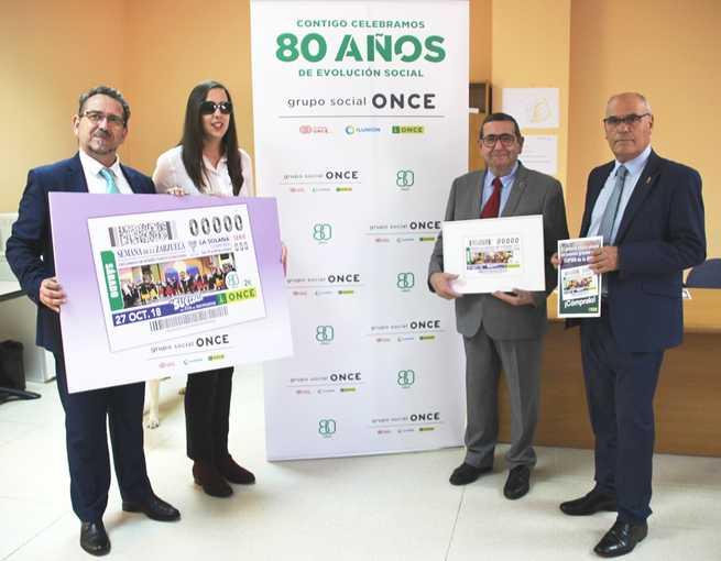 La ONCE dedica un cupón a la Semana de la Zarzuela de La Solana