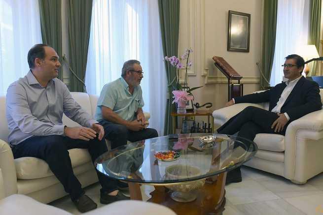 Caballero coincide con CCOO y UGT en la necesidad de impulsar el Plan de Empleo y de mejorar los salarios en la provincia de Ciudad Real