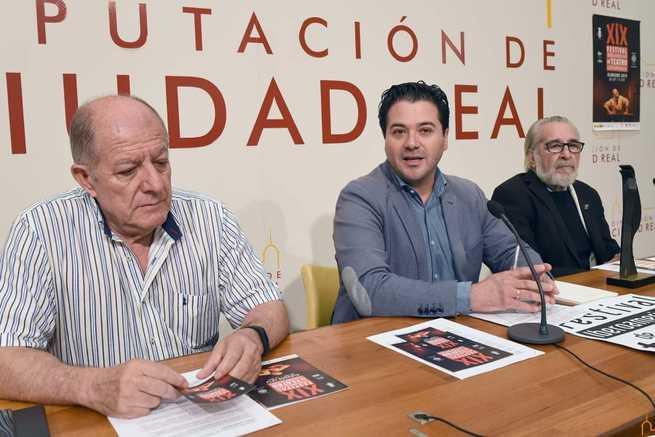 Presentado en la Diputación de Ciudad Real XIX Festival Iberoamericano de Teatro Contemporáneo