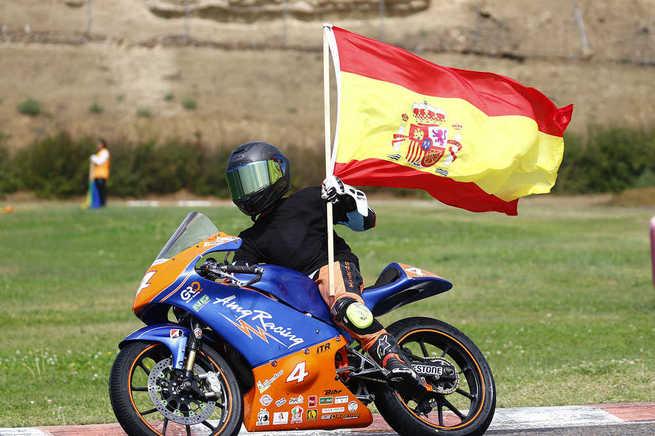 Argamasilla de Calatrava felicita a David García Almansa tras proclamarse campeón de España de Moto 5