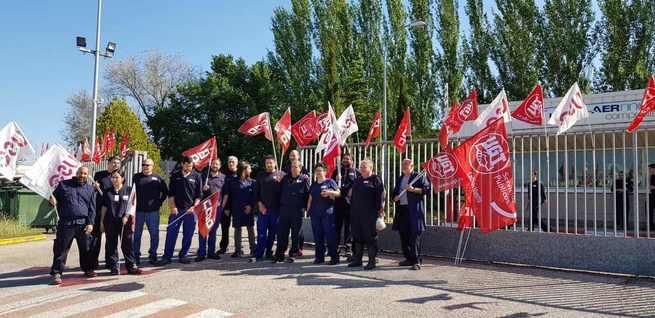 La plantilla de ICSA afronta cuatro jornadas de huelgas para exigir al grupo Aernnova carga de trabajo que garantice el empleo en la fábrica toledana