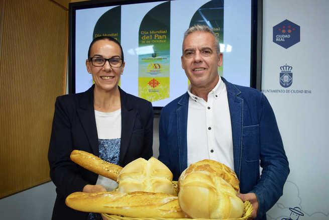 Ciudad Real conmemora este miércoles  el Día Mundial del Pan en la Plaza Mayor