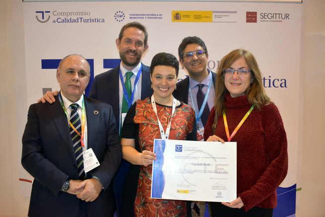 """Ciudad Real recibe el reconocimiento  como destino turístico de calidad """"SIDTEC"""""""