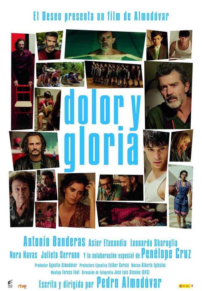 """""""Dolor y Gloria"""" de Pedro Almodóvar selección oficial del Festival de Cannes"""