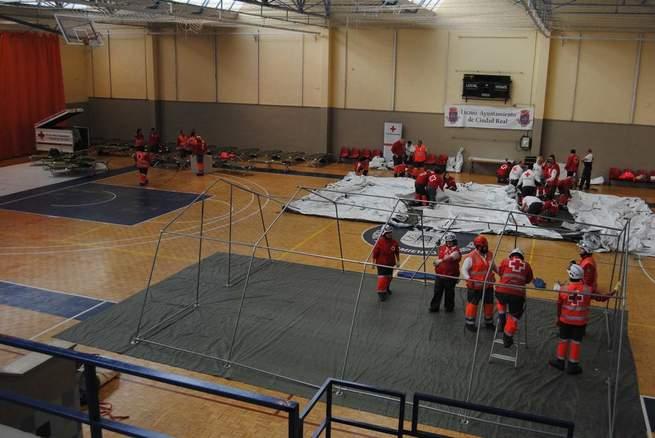 Imagen: Casi 70 voluntarios y voluntarias participan en el sexto encuentro provincial de equipos de respuesta inmediata de la Cruz Roja Española