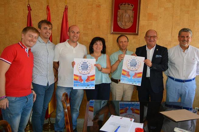 Firmado el convenio de colaboración entre la RFEP, el Ayto. de Ciudad Real y el club Sportia para el Campeonato de Europa de Freestyle