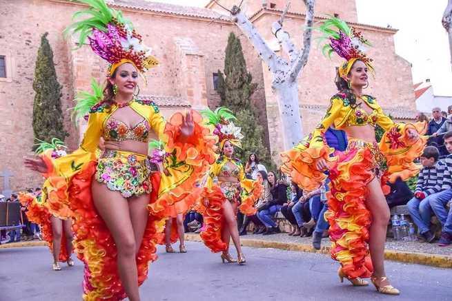 Publicadas las Bases del Desfile de Carrozas y Comparsas Carnaval 2020 de Pozuelo de Calatrava