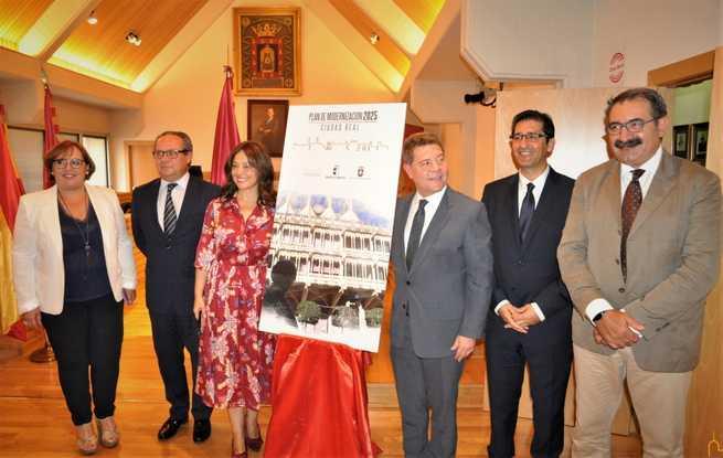 Caballero destaca la recuperación para el disfrute de los ciudadrealeños de la zona de Sanidad como parque público