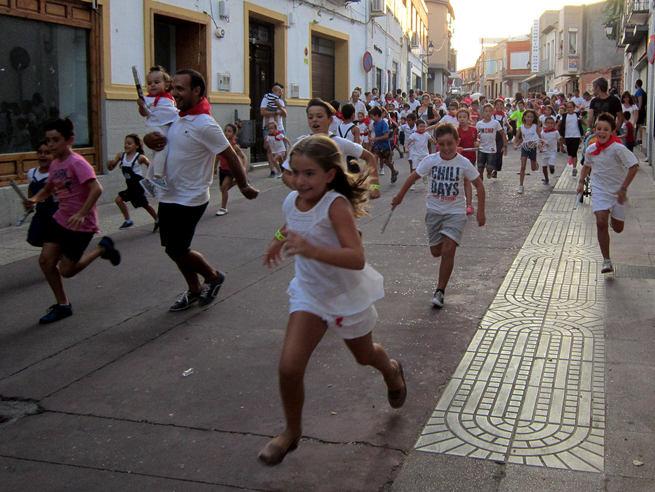 Encierros Infantiles, diversión para pequeños y grandes en Villacañas
