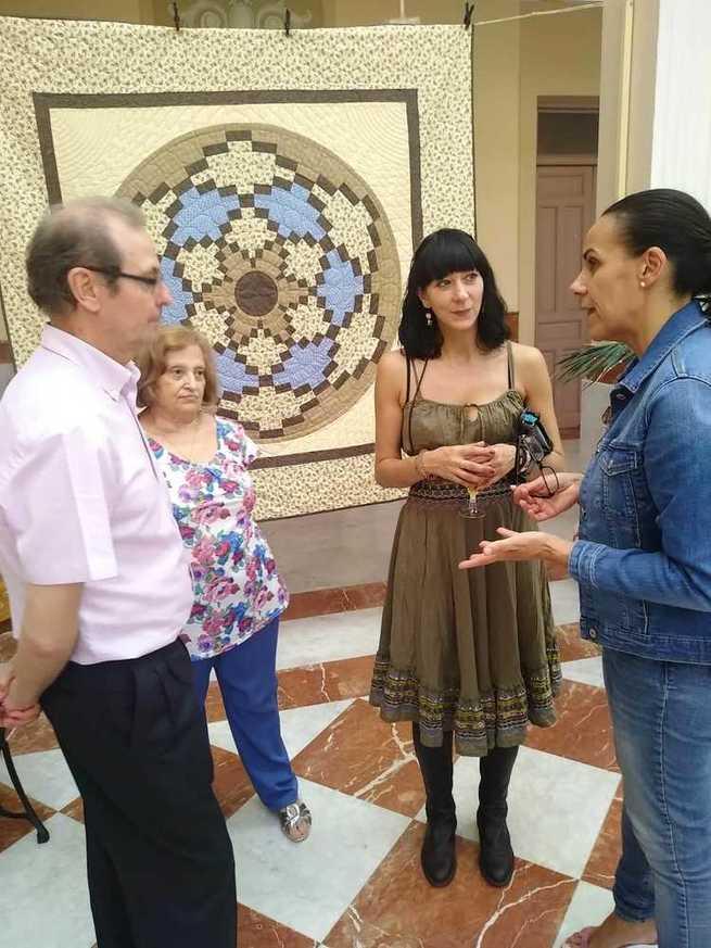 Inaugurada en Ciudad Real una exposición de patchwork  en el Centro Cultural Antiguo Casino
