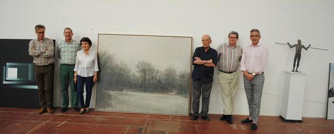 Imagen: Una pintura de Miguel Galano, Medalla de Oro de la 77 Exposición Internacional de Artes Plásticas