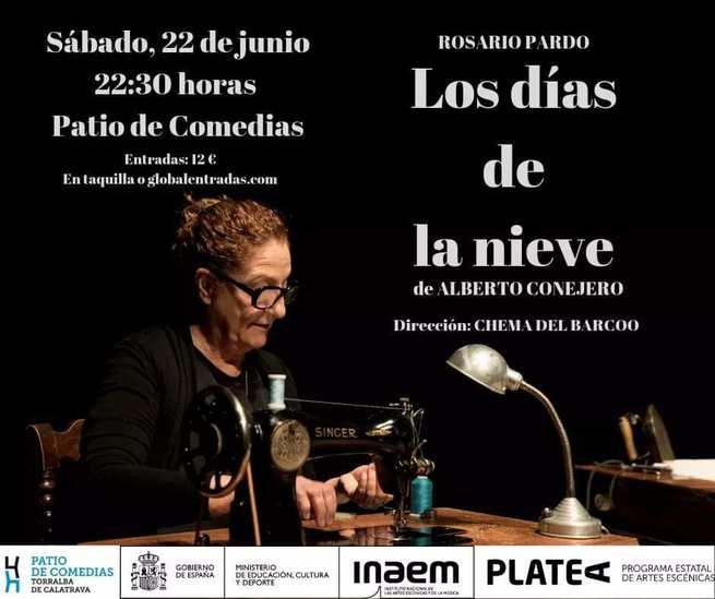 Los días de la nieve', de Rosario Pardo en el Patio de Comedias de Torralba de Calatrava