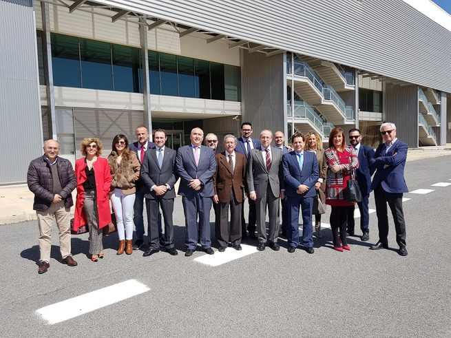 FECIR se reune en la sede de CRIA para conocer la situación de la puesta en marcha del Aeropuerto de Ciudad Real