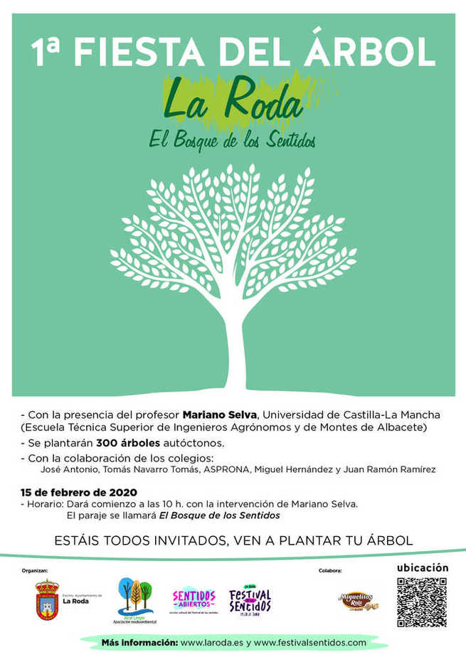 Una plantación popular en La Roda dará vida a 'El Bosque de los Sentidos'