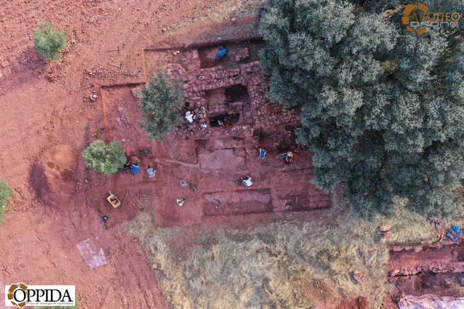 Los Villares de Alhambra, la villa romana de época alto-imperial descubierta en el ager laminitanus, completa su expediente de excavación