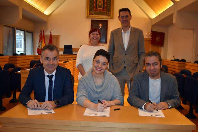 Ayuntamiento de Ciudad Real y AQUONA firman un convenio para que personas vulnerables realicen prácticas no laborales