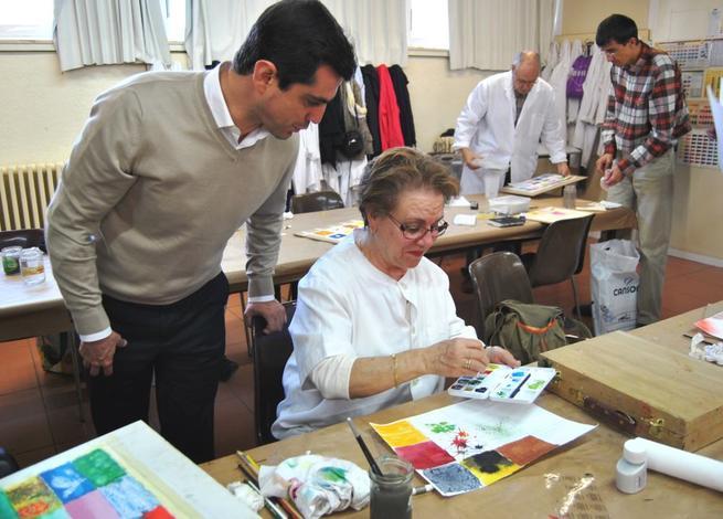 """Imagen: l alcalde de Albacete, Javier Cuenca, ha reiterado su compromiso con los todos los albaceteños, asegurado que """"la cercanía es y seguirá siendo mi principal seña de identidad para poder estar en contacto permanente con mis vecinos"""""""