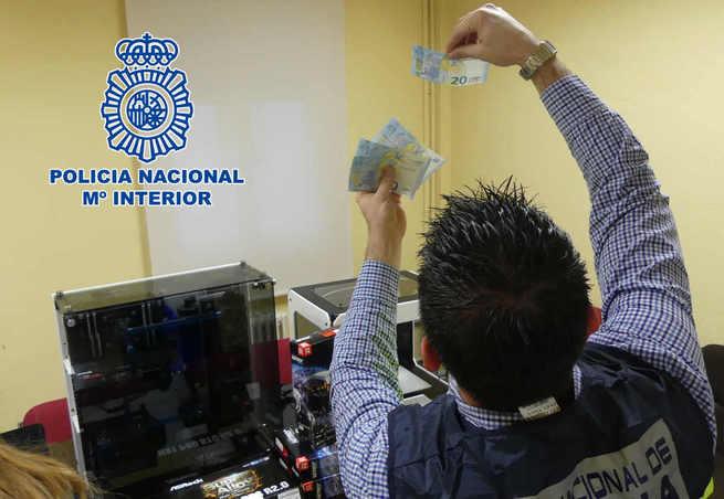 Detenidas siete personas por comprar dinero falso en una imprenta clandestina desmantelada en Austria