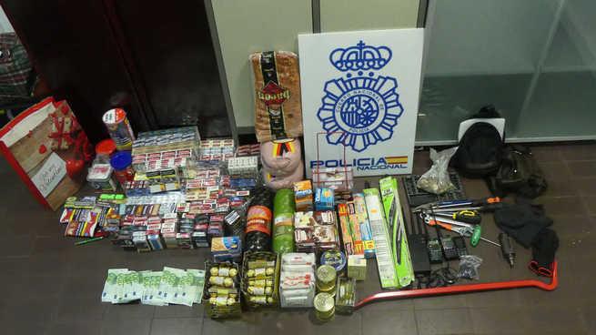 Detenidas cuatro personas presuntas autoras de robos en establecimientos comerciales de las provincias de Ciudad Real, Palencia y Burgos