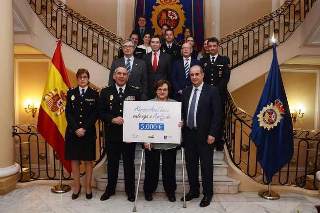 La Ruta 091 de la Policía Nacional recauda 21.411,28 euros que se destinarán a personas necesitadas de todo el territorio español