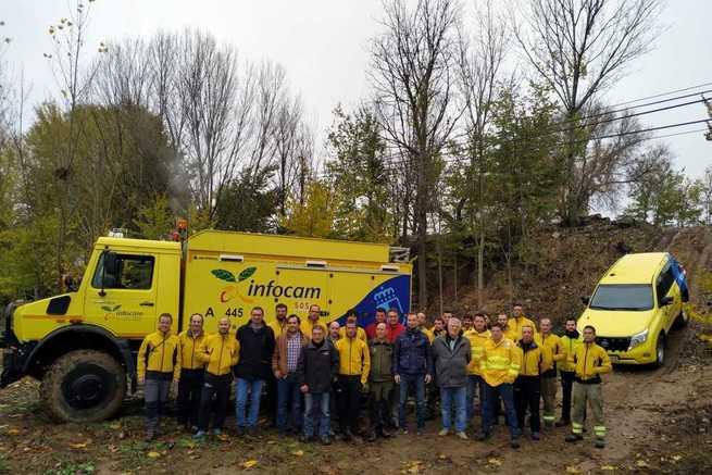 El Gobierno regional forma a los trabajadores del Plan Infocam con cursos para instructores de conducción de vehículos especializados en la prevención y extinción de incendios forestales