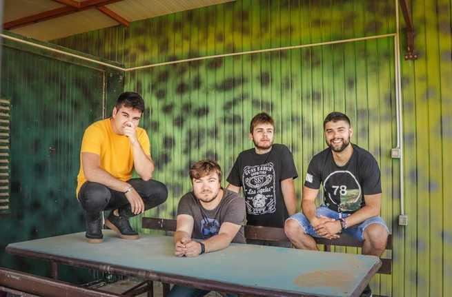 La banda conquense de 'Los Acordes Rotos' ha sacado su nuevo disco