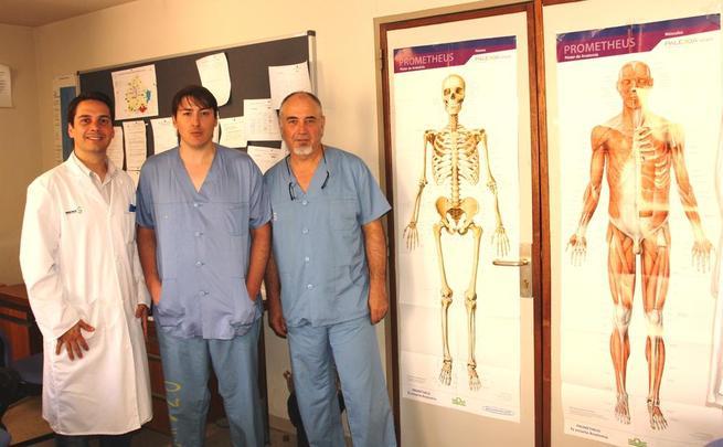 Imagen: El Hospital Virgen de la Luz de Cuenca incorpora la cirugía percutánea del pie a su cartera de servicios