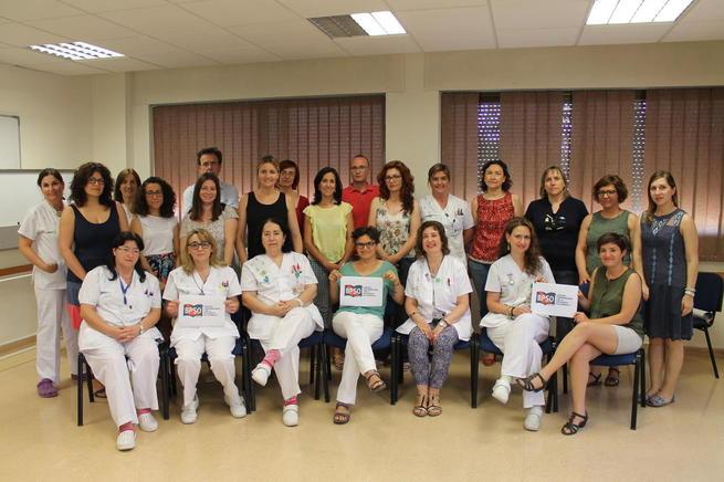Imagen: Enfermería se vuelca en la implantación de Guías de Buenas Prácticas en el Complejo Hospitalario Universitario de Albacete