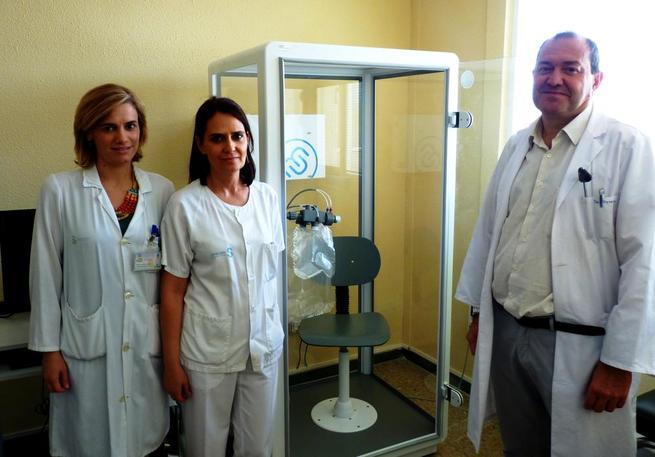 Imagen: El Servicio de Salud de Castilla-La Mancha adquiere un equipo de pruebas funcionales respiratorias para el Hospital de Puertollano