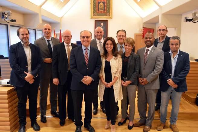 Una delegación de California visita Ciudad Real interesada en la Alta Velocidad