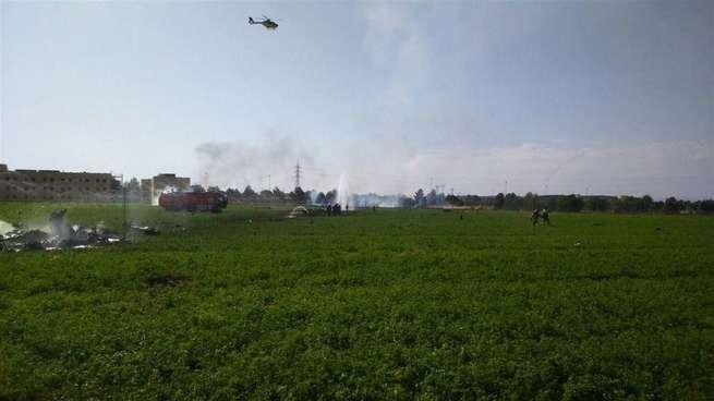 Defensa afirma que el accidente del Eurofighter se ha producido en la maniobra de aproximación para aterrizar