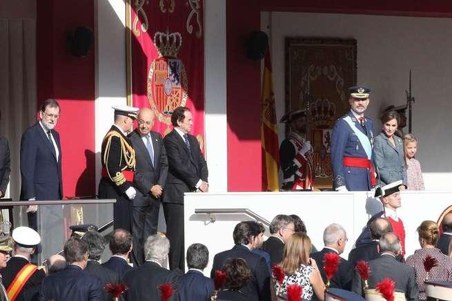 Rajoy y Cospedal se desplazan a Albacete tras saludar al Rey en la recepción de Palacio Real